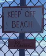 keepoffbeach